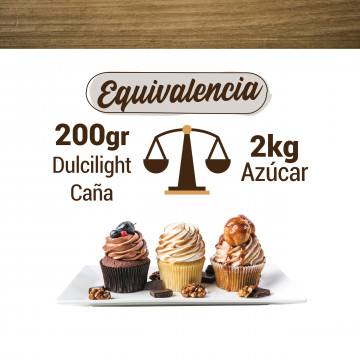 Pack 50 sobres Sucralosa Moreno Ecológica 100% Natural DulciLight