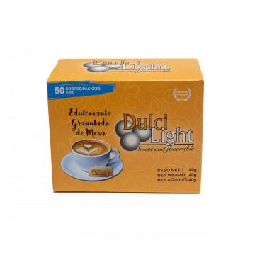 Pack 50 sobres Sucralosa Ecológica 100% Natural DulciLight