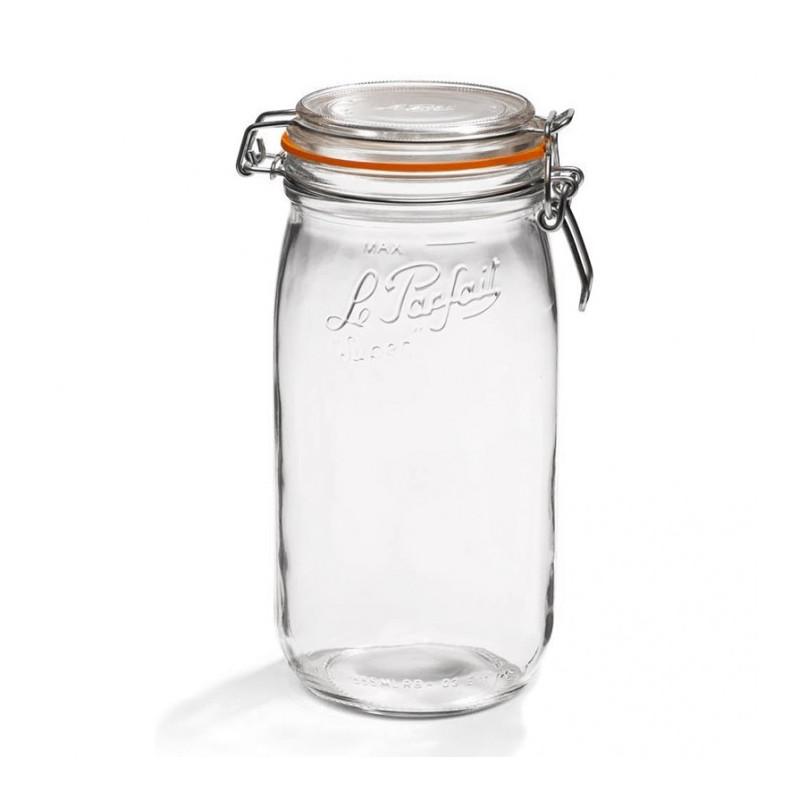 Tarro de cristal hermético Super 1500 ml Le Parfait