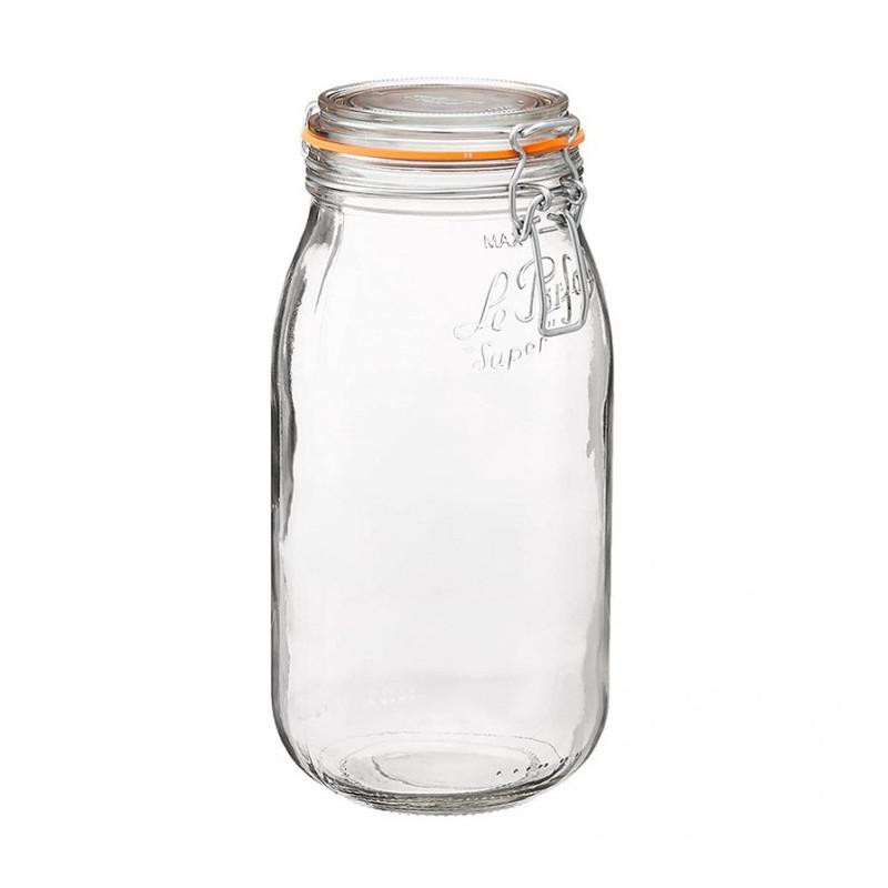 Tarro de cristal hermético Super 2000 ml Le Parfait