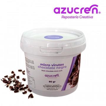 Virutas Rizos de Chocolate Negro 80 g Azucren