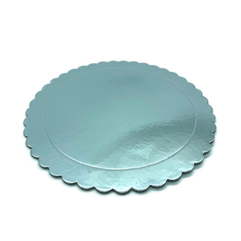 Bandeja redonda 25 cm x 3 mm Azul Extra Fuerte