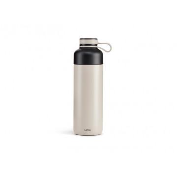 Botella Isotérmica To Go 500 ml Gris Lékué