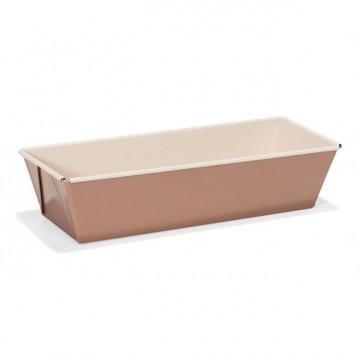 Molde rectangular plum cake 25 cm Ceramic Bake Rosa Patisse