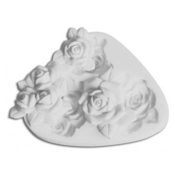 Molde silicona 3 rosas SLK
