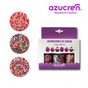 Pack 3 Sprinkles Friend Love, Reina del Baile y Bomba de Amor Azucren