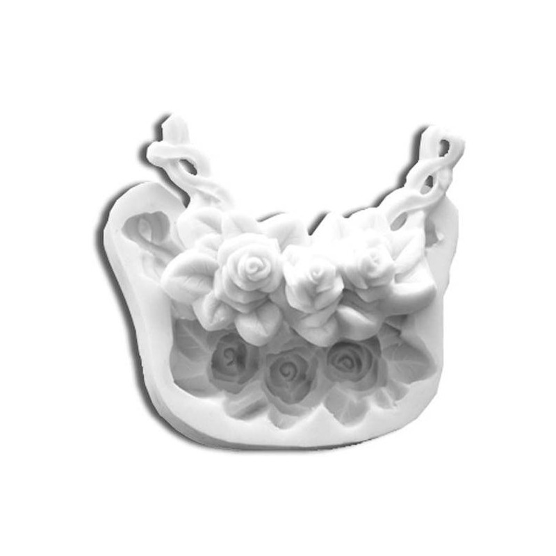 Molde silicona girnalda de rosas SLK