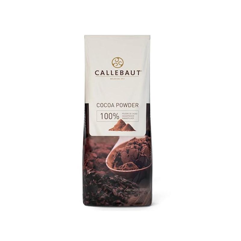 Cacao en polvo 100% puro 1kg Callebaut