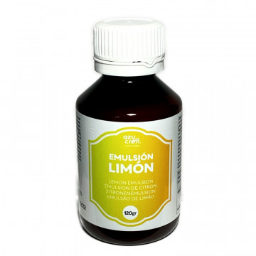 Aroma Emulsión de Limón 120 ml Azucren
