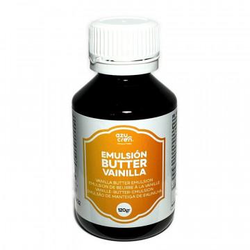 Aroma Emulsión de Butter Vainilla 120 ml Azucren