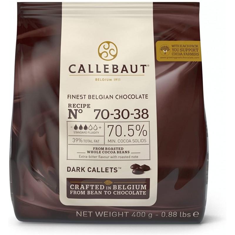 Chocolate negro 70 % en grageas 400 g Callebaut