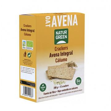 Crackers de Avena Integral 200 g Naturgreen