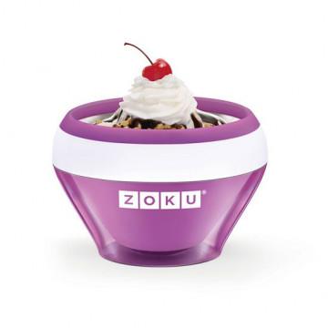 Bol para hacer helado en 10 minutos Púrpura Zoku