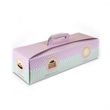 Caja rectangular para Brazo Gitano 45 cm Delicious