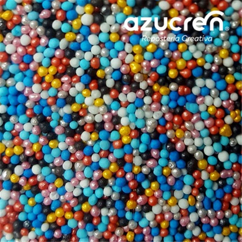 Sprinkles mini perlitas colores 90 g Azucren