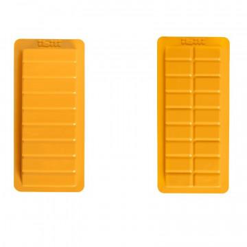 Pack 2 Moldes Plástico Turrón Porciones Ibili