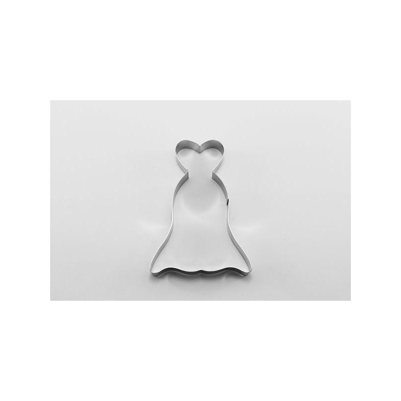 Cortante galleta Vestido Corazón