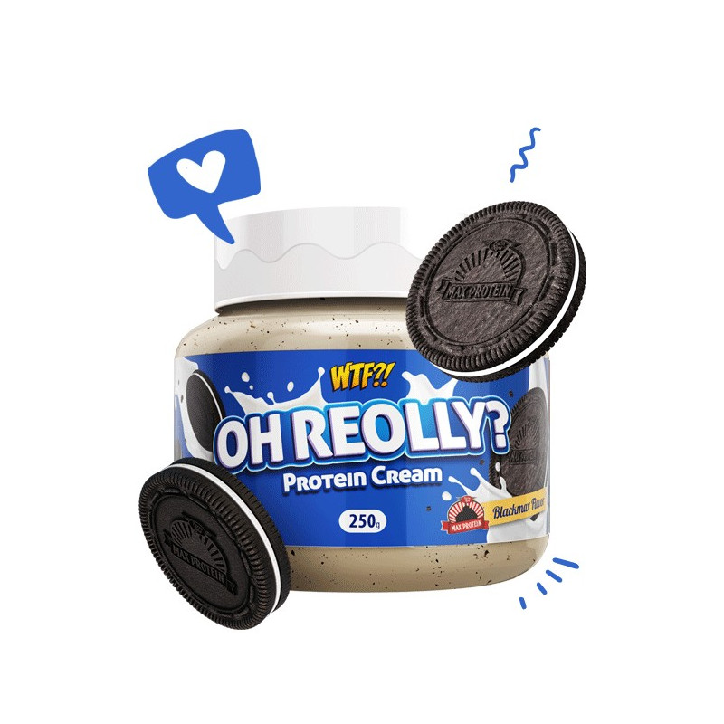 Crema Proteica Oh-Reolly Cookies and Cream WTF 250 g Max Protein