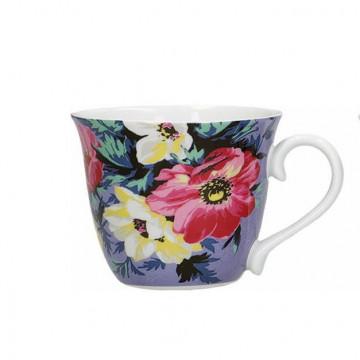 Taza de café azul Mikasa Clovelly Kitchen Craft