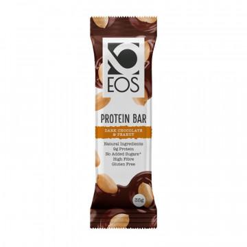 Barrita Proteica de Cacahuete y Chocolate Negro 30 g EOS