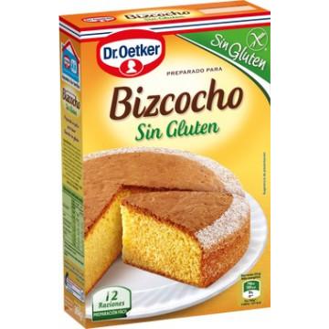 Preparado de Bizcocho SIN GLUTEN 364 g Dr Oetker