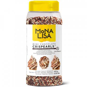 Mini Crispearls Mini perlas de chocolate 425 gr Mona Lisa Callebaut