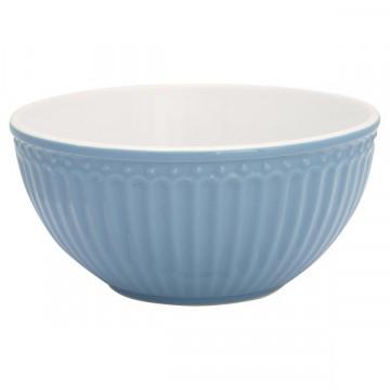 Bol de cerámica Alice Sky Blue Green Gate