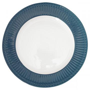 Plato de cerámica 27 cm Alice Ocean Blue Gate