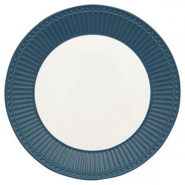 Plato de cerámica 23 cm Alice Ocean Blue Green Gate