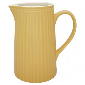 Lechera cerámica Alice Honey Mustard 1L Green Gate