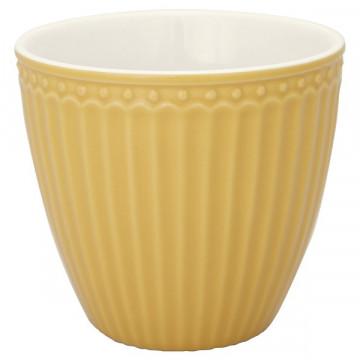 Tazón de leche Alice Honey Mustard Green Gate