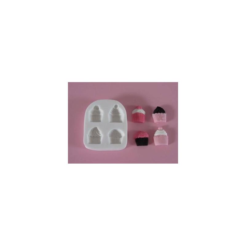 Molde silicona Cupcakes FPC