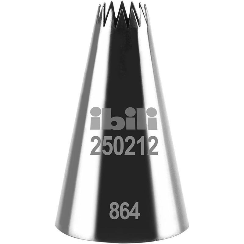 Boquilla estrella multipunta nº 6B de 12 mm IBILI