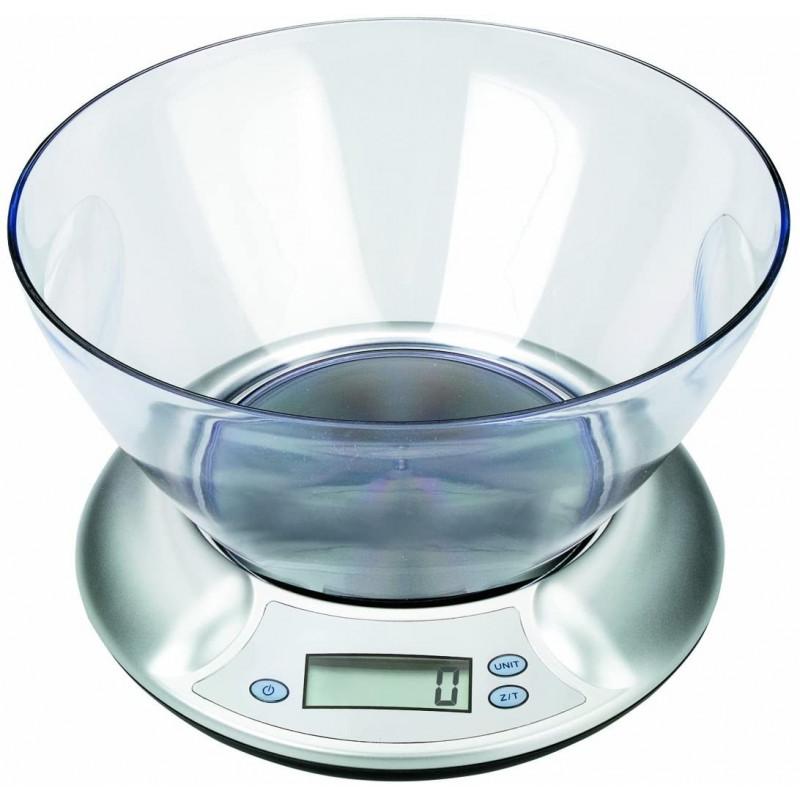 Báscula Peso Digital con Bol 2kg IBILI