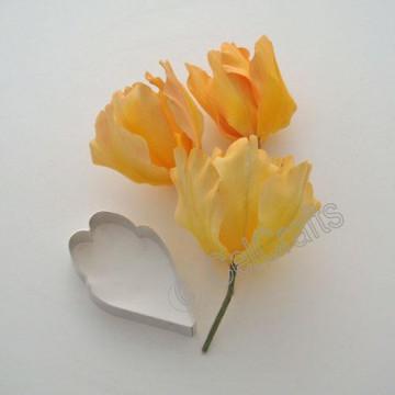 Cortante Petalo Flor Tulipan