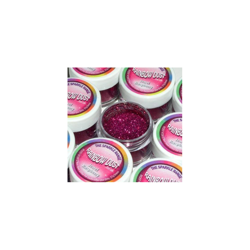 Purpurina fina Sparkles Jewel Raspberry rainbow dust