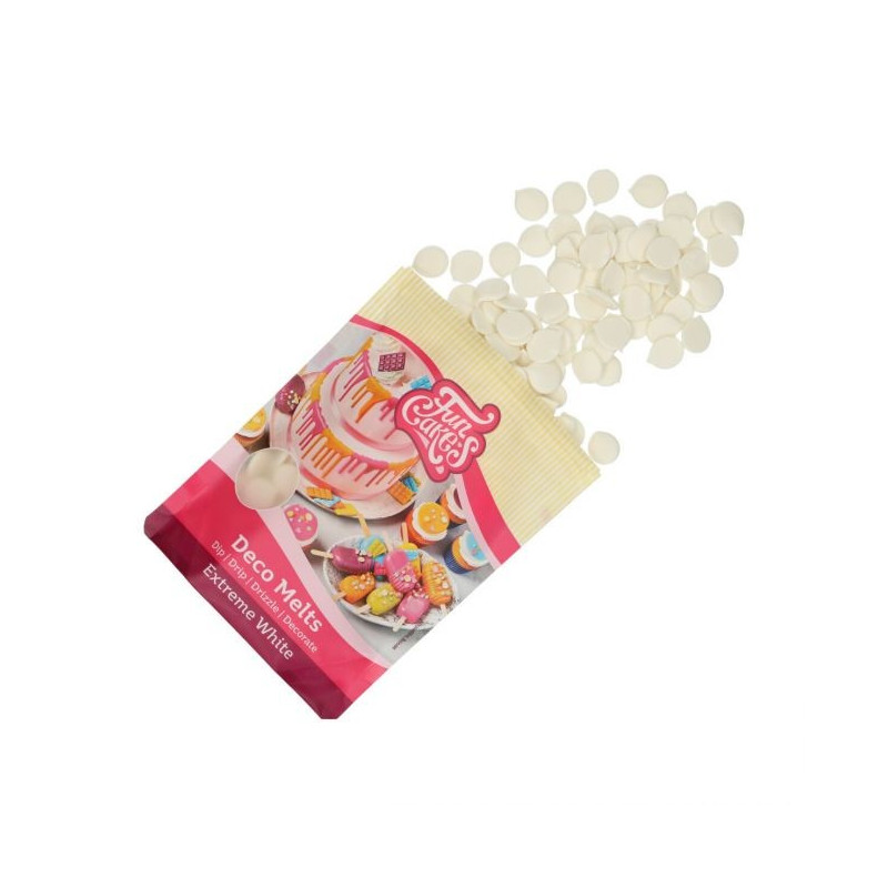 Candy Melt Blanco Extra 250 g Funcakes