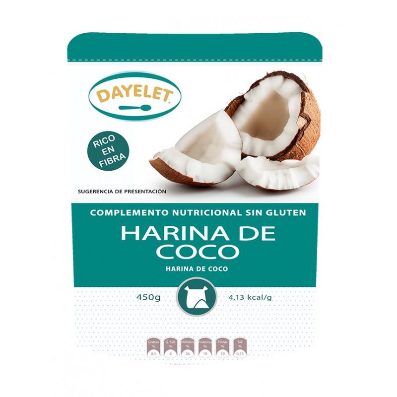 Harina de coco 450 g Dayelet