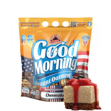 Harina de avena GOOD MORNING Cheesecake 1.5 kg MaxProtein