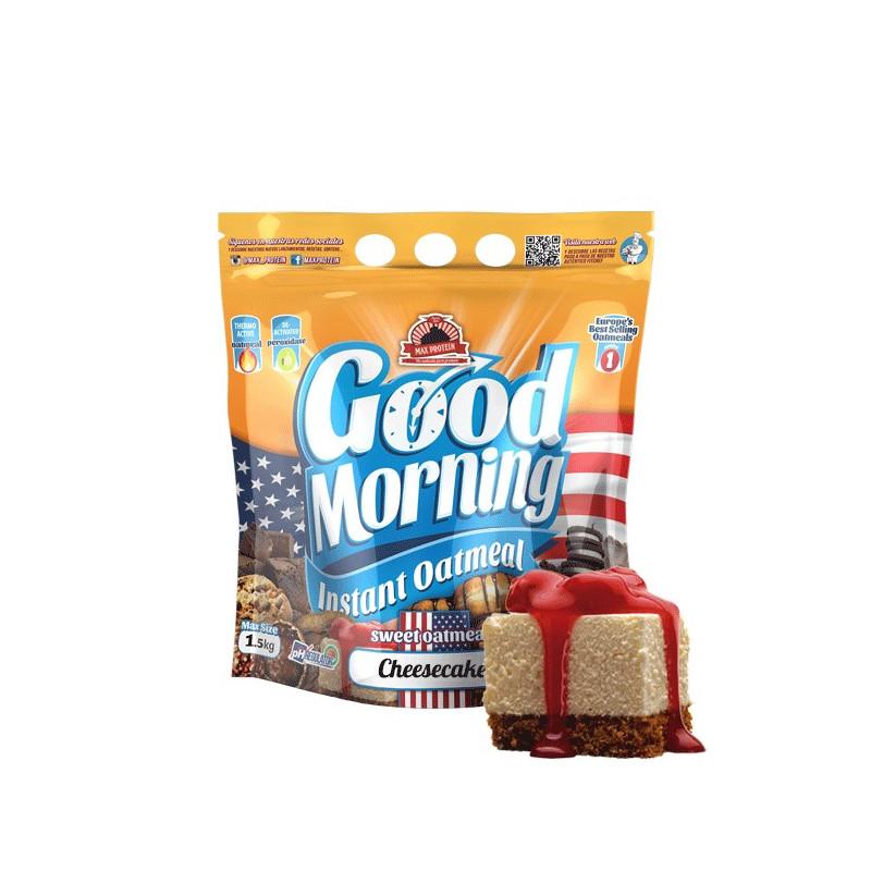 Harina de avena GOOD MORNING Cheesecake 1.5 kg MaxProtein