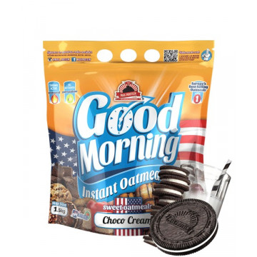 Harina de avena GOOD MORNING Choco Cream Cookies 1.5 kg MaxProtein