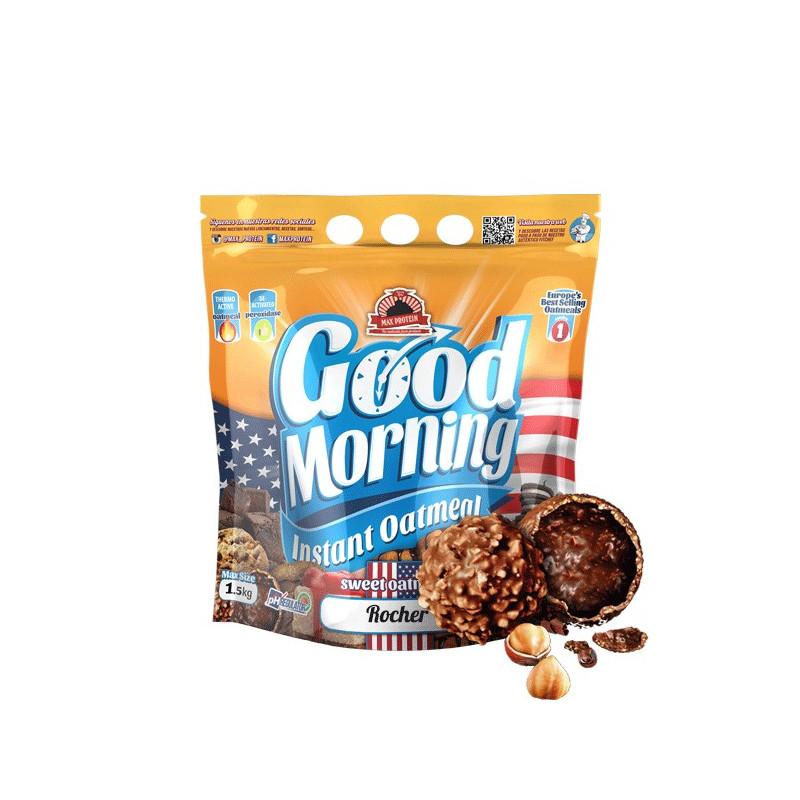 Harina de avena GOOD MORNING FERRERO ROCHER 1.5 kg MaxProtein