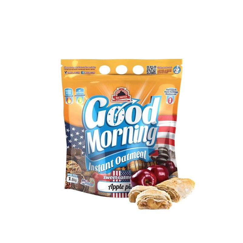 Harina de avena GOOD MORNING APPLE PIE 1.5 kg MaxProtein