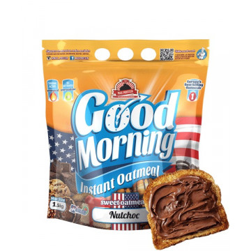 Harina de avena GOOD MORNING NUTCHOC 1.5 kg MaxProtein