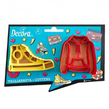 Pack 2 cortantes: Sudadera y Zapatilla Decora Italia