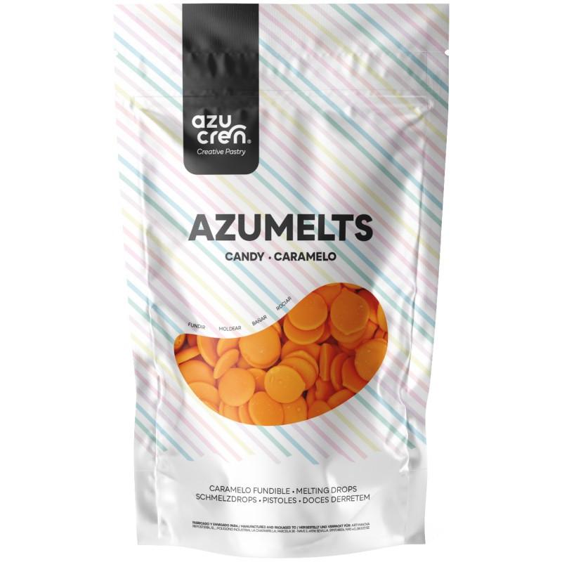 Candy Melt Naranja 250 g Azumelts AZUCREN