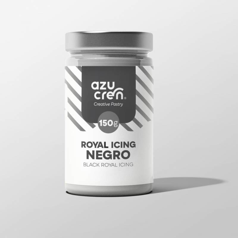 Preparado de ROYAL ICING NEGRO 150 g Azucren