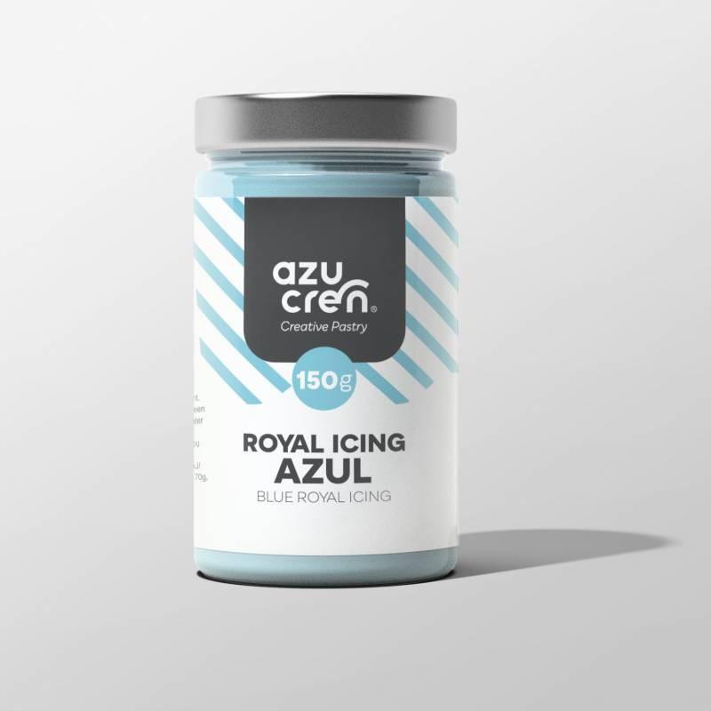 Preparado de Royal Icing AZUL 150 g Azucren