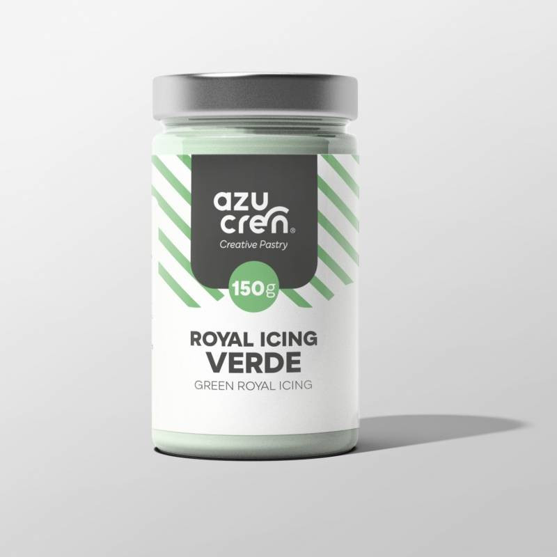 Preparado de ROYAL ICING VERDE 150 g Azucren