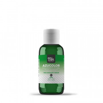 Colorante en gel Verde 50 g AzuColor Azucren